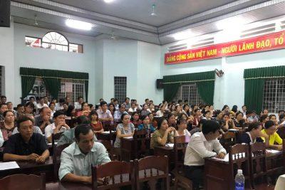 Tổ chức Hội nghị tập huấn hướng dẫn nhiệm vụ giáo dục THCS năm học 2020-2021 và các Thông tư mới