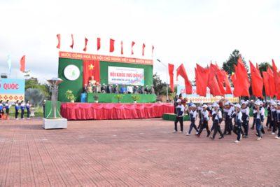 Hội khỏe Phù Đổng huyện Krông Pắc lần thứ 14