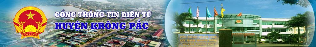 Cổng TT UBND huyện Krông Pắc